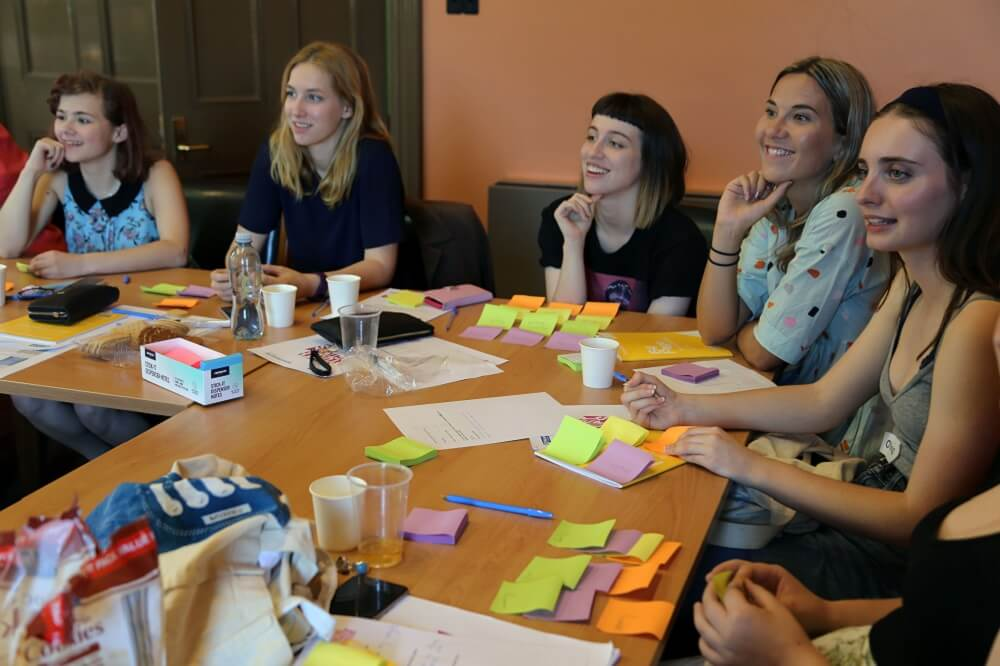 Georgia with other Youth Activist Leaders at a Melbourne workshop
