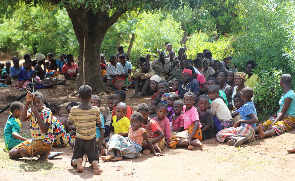 Children displaced by the floods in Mulanje, Southern Region of Malawi