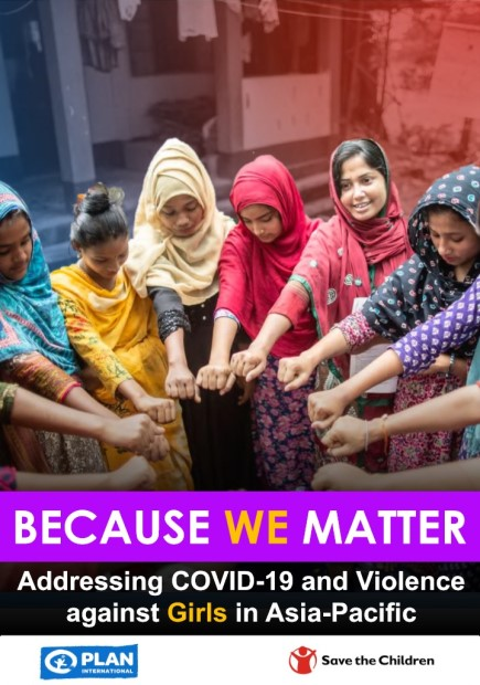 Because We Matter: Addressing COVID-19 and Violence against Girls in Asia-Pacific