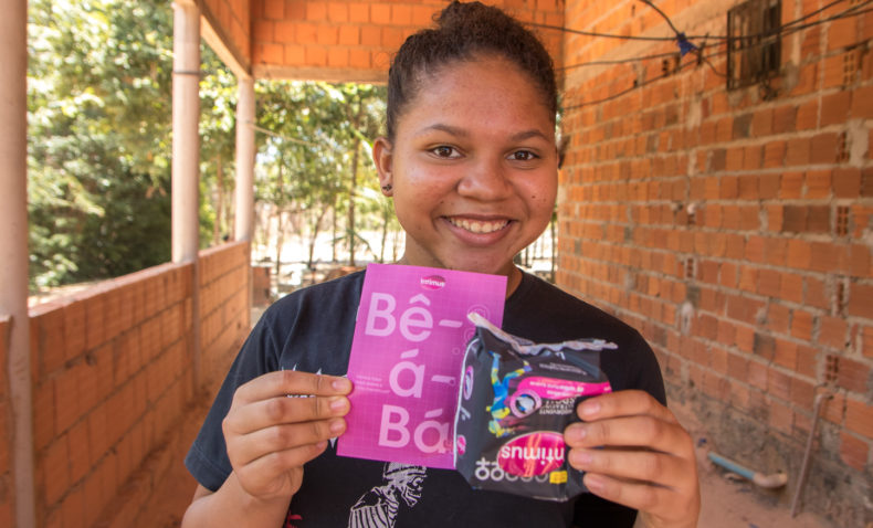 Can provide sanitary pads to girls in school
